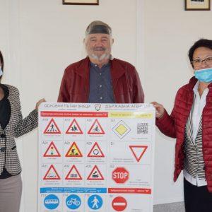 218 тежки катастрофи в Хасковско, поставят табла с пътните знаци във всички училища