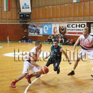 """Баскетболният """"Хасково"""" се наложи в здрав мач срещу пловдивчани"""