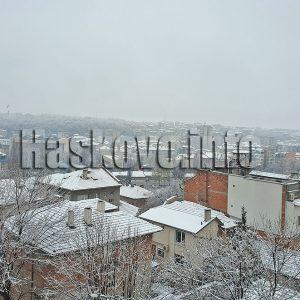 До 15 см сняг в Хасковско, на много места вече вали дъжд
