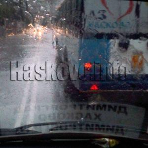 Жълт код за валежи в Хасковско