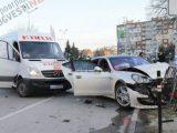 МВР: бусът е отнел предимството на Поршето в катастрофата в петък