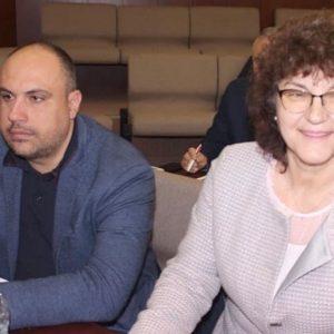 Общински съветници от БСП с дарение за борбата с коронавирус