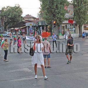 Протестиращите с шествие в Хасково и подкрепа от Стара Загора