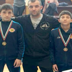 Пълен комплект медали за борците от Караманци на държавното първенство