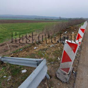 """Разчистиха камионите от тежката катастрофа, движението по магистрала """"Марица"""" е възстановено"""