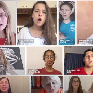 Световният хор с хасковско участие с премиера по китайската детска телевизия – ВИДЕО