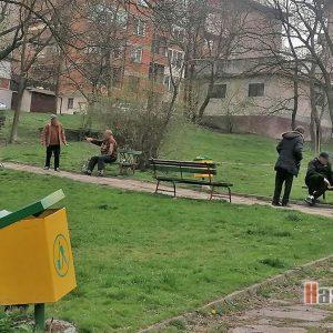 Снимка на деня: Пенсионери в парка