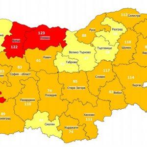 Удължиха епидемичната обстановка, Хасковско излезе от червената зона по заболяемост от COVID-19