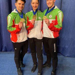 8 медала спечелиха националите по спортна аеробика в Румъния