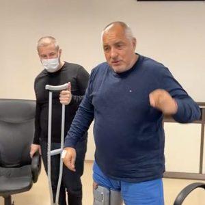 Борисов номинира Делян Добрев за министър в лайв от болницата – ВИДЕО