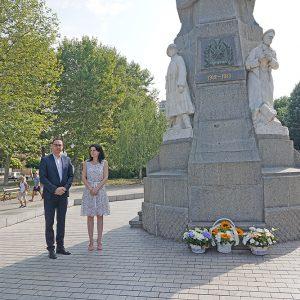 В Хасково поднесоха цветя за 117 г. от Илинденско-Преображенското въстание
