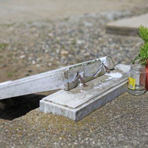 Вандали вилняха в гробището на село Иваново