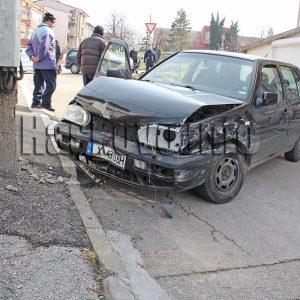 Мъж и жена пострадаха при катастрофа в Хасково