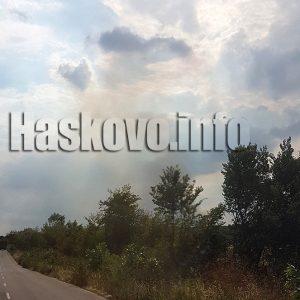 Пламна гората между Александрово и Константиново