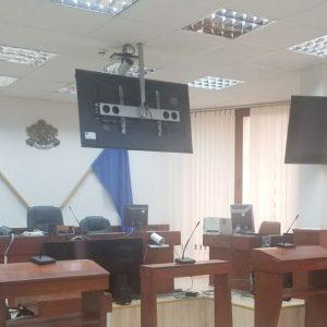 Системи за видеоконферентни връзки в съдилищата в Хасково и Свиленград