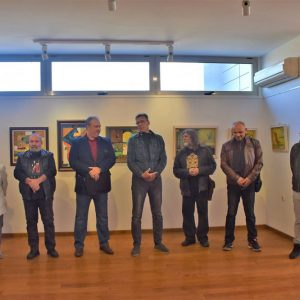 Хасковските художници подредиха изложба в Харманли