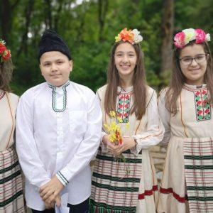 Хасковско училище отбеляза Гергьовден с онлайн тържество